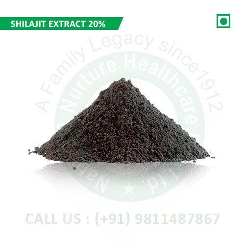 Shilajit Extract 20% (Pure Shilajit Extract, Shudh Shilajit Extract, Extract Asphantum)