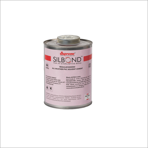 Supreme UPVC Regular Bodied Solvent Cements, Primer And Thread Sealant