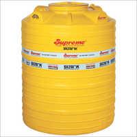 Supreme UPVC 500L Three Layer Overhead Yellow Water Tank