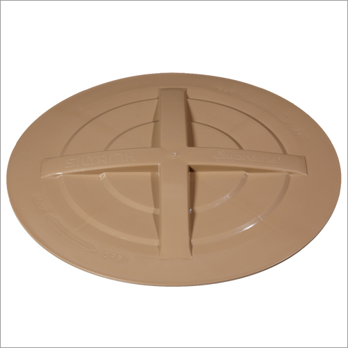 Supreme UPVC Threaded Type Cover For Overhead Brown Water Tank