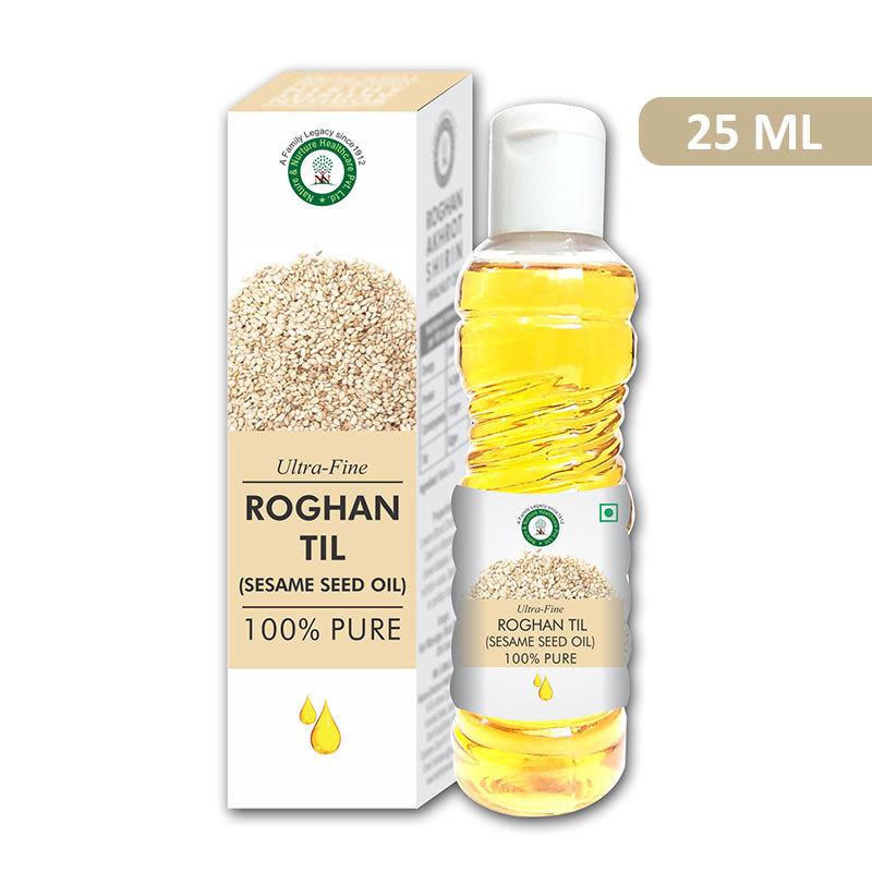 Ultra Fine Roghan Til 25 ML (Sesame Oil)