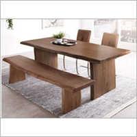 Block Live Edge Dining Table