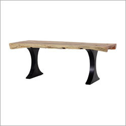 Salem Live Edge Dining Table