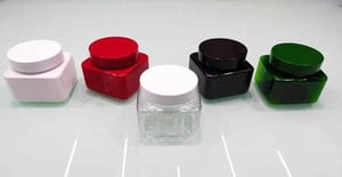 300ml Square Pet Jar