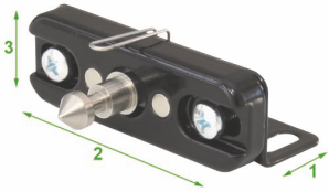 Digital Furniture Lock- Solo Invisible Rfid Lock