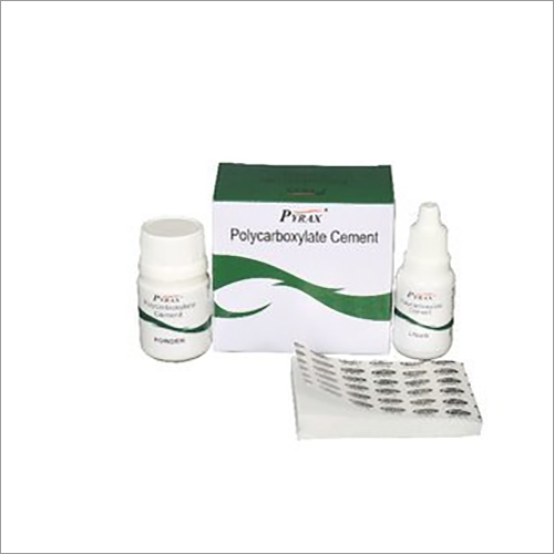 Polycarboxylate Dental Cement