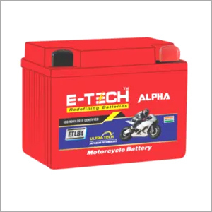 ERC E-TECH ALPHA 4LB Self Start Motorcycle (100cc - 110cc ) 20 Month Warranty