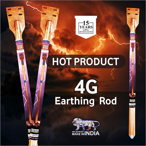 4G Copper Bonded Earth Rod