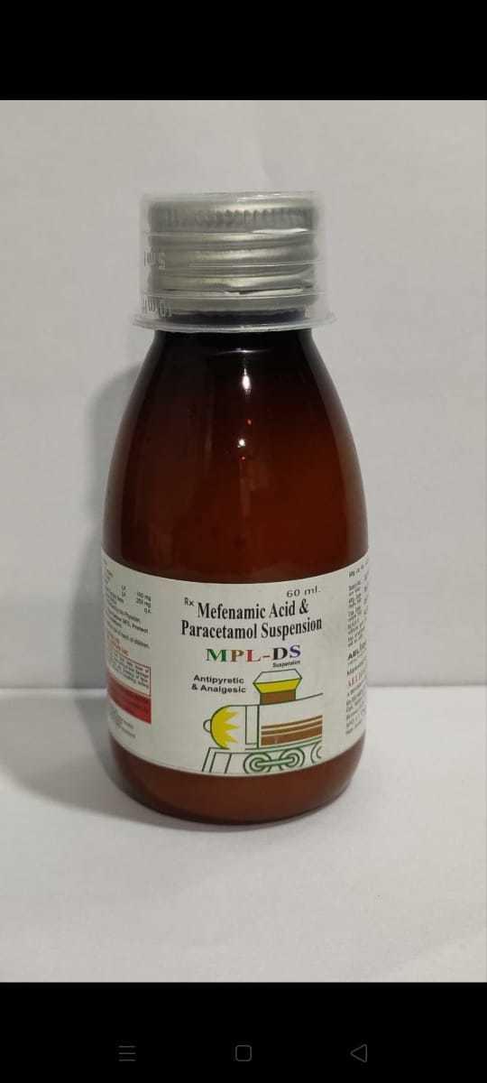 Mefenamic Acid& Paracetamol Suspension