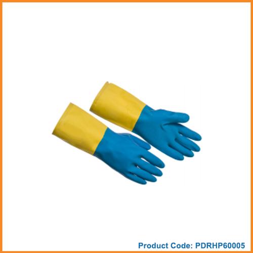 Neoprene Coated Latex Gloves