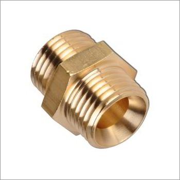 Hex Brass Coupler