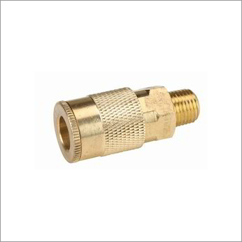 Industrial Brass Coupler