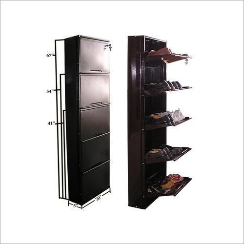 Steel Shoe Cabinet Rack