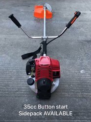 Electric Self Button Start 4 Stroke Gx35 Brush Cutter