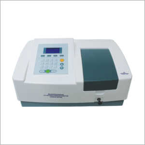 Single Beam Microprocessor UV Spectrophotometer