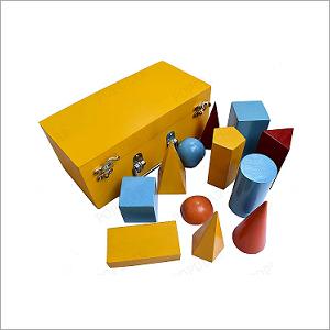 Wooden Geometrical Figure