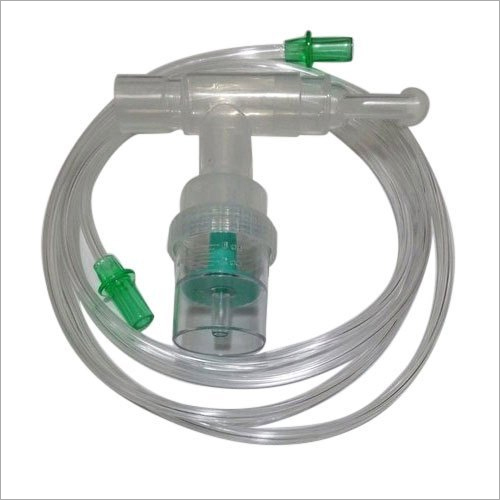 White Nebulizer T Piece Kit