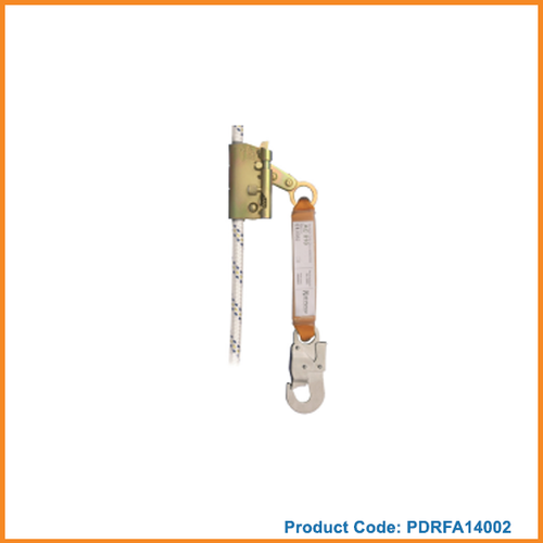 Fall Arrester on Polyamide Rope