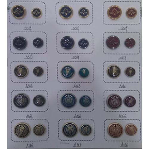 Round Metal Button
