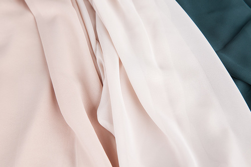 100% Polyester Woven Fabric for women's wear HN 2704 W/S
