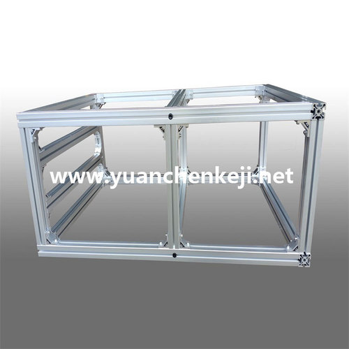 Customized nonstandard Sheet Metal Fabrication of Aluminum Profile Frame