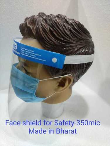 Face Shield For Safety 350 Micron