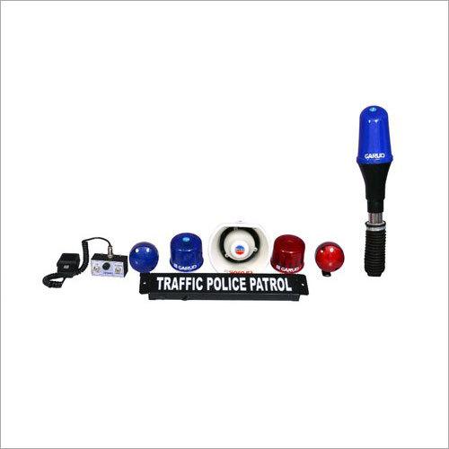 Police Bike Siren Light