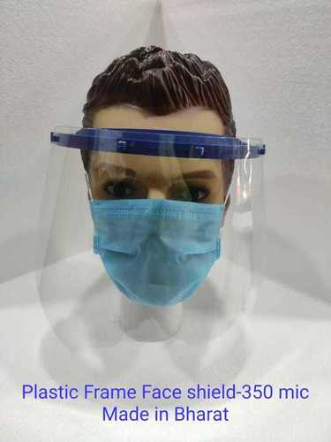 Plastic Frame Face Shield 350 Micron