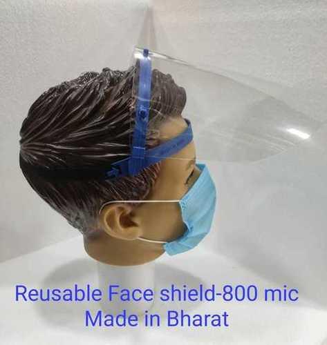 Reusable Face Shield 800 Micron
