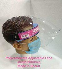 Polycarbonate Adjustable Face Shield 2000 Micron