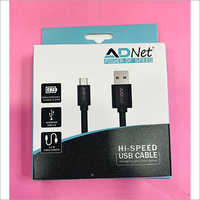 USB TO MICRO MOBILE DATA CABLE  1.5 AMP 1 MTR