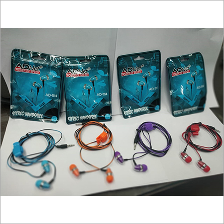 MOBILE EARPHONE 5 COLOUR MODEL ADNET HF-1114