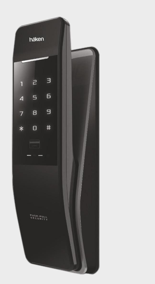 Digital Door Locks- Hdl-PP53 Gold Push Pull Lock