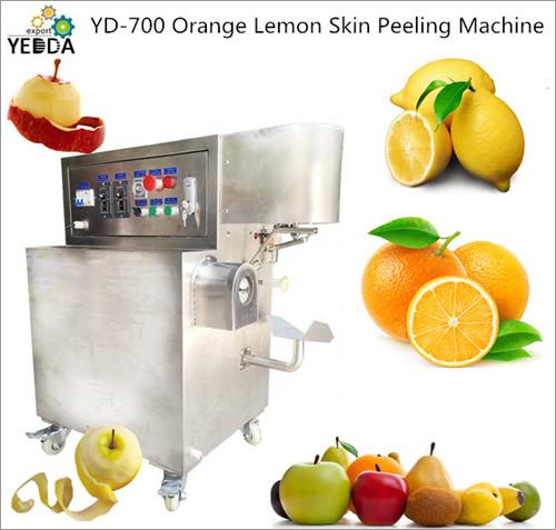 Orange Lemon Skin Peeling Machine