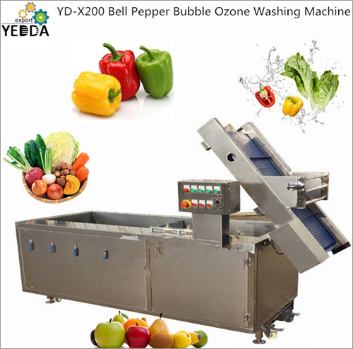 Bell Pepper Bubble Ozone Washing Machine