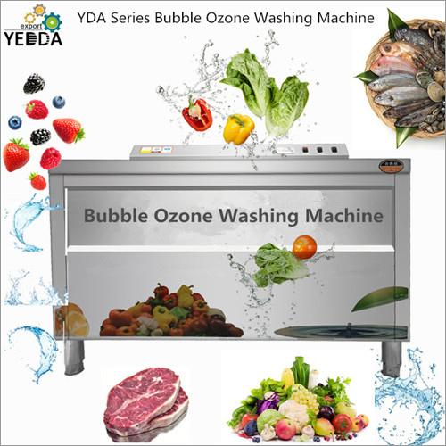 Fruit Vegetable Bubble Ozone Washing Machine