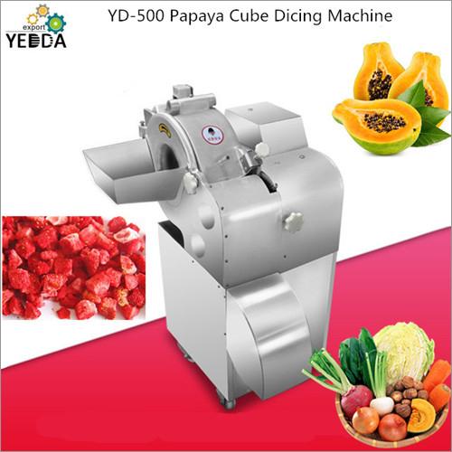 Papaya Cube Dicing Machine