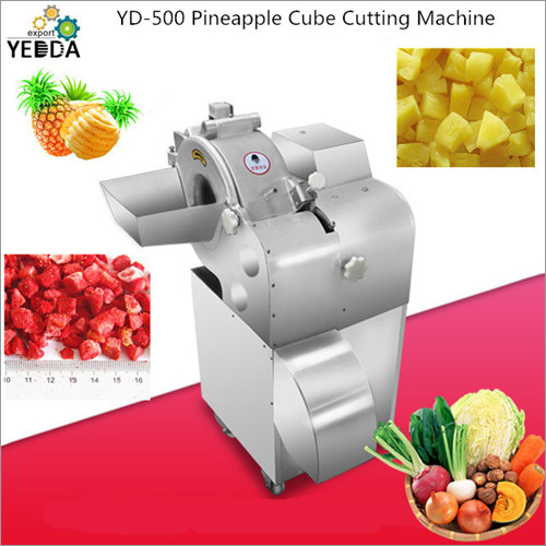 Pineapple Cube Cutting Machine