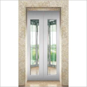 Half Vision Glass Door Elevator