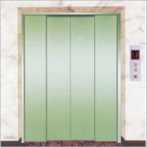 4 Part Center Opening Door Goods Elevator