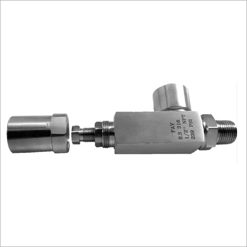 SS Screwed End Type Safety Valve