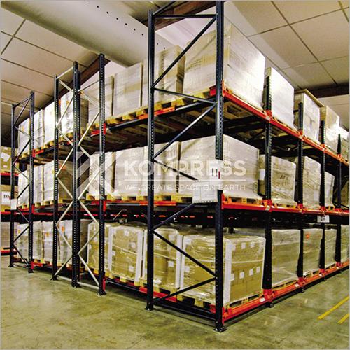 Push-Back Racking Storage