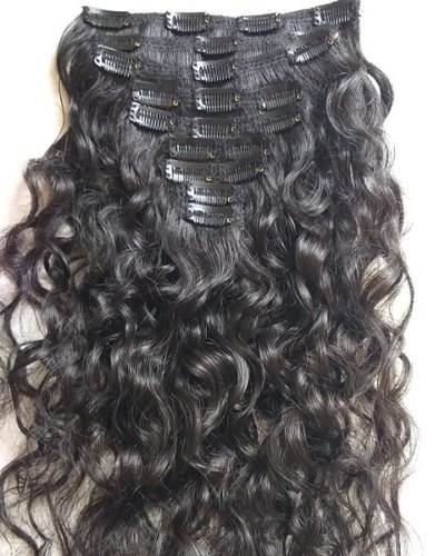 Indian Clip Human Hair Extensions