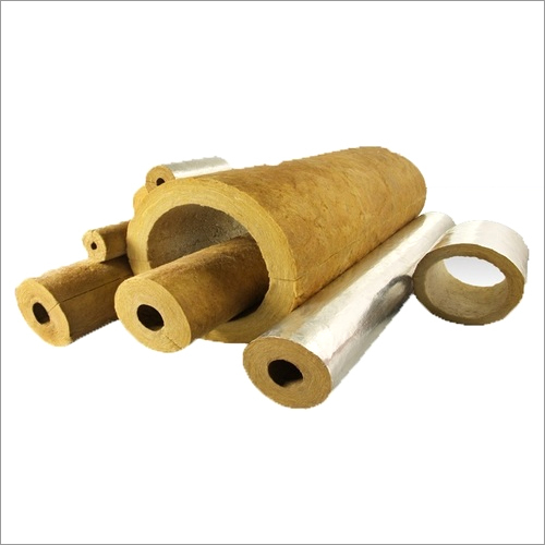 Sectional Pipe Rock Wool Insulation