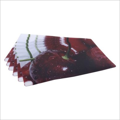 Available In Different Color Fruit Print Fridge Mats