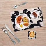 Designer Table Mat With Coaster