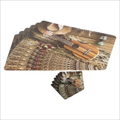 Washable Modern Table Mats With Coaster