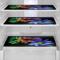 Floral Print Refrigerator Mats