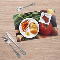 Square Shape Printed Table Mats