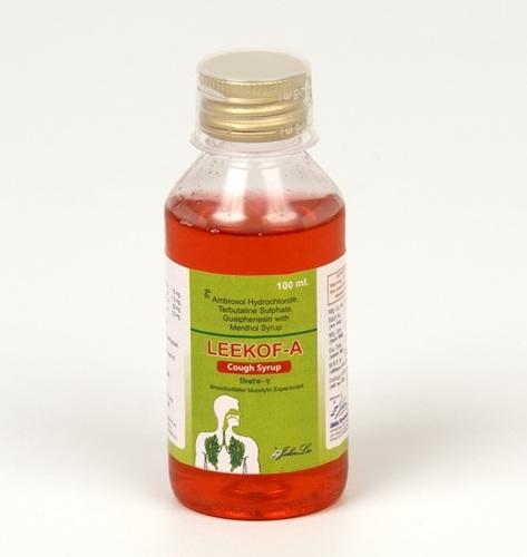Ambroxol Hcl 15 mg + Terbutaline Sulphate IP 1.5 + Guaifenesin IP 50 + Menthol IP 0.5